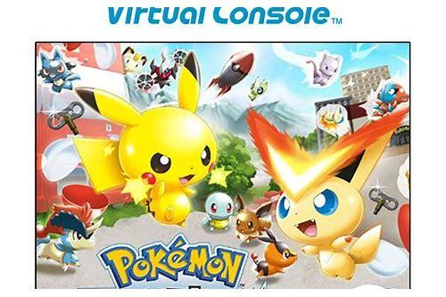 wii pokemon rumble wad download