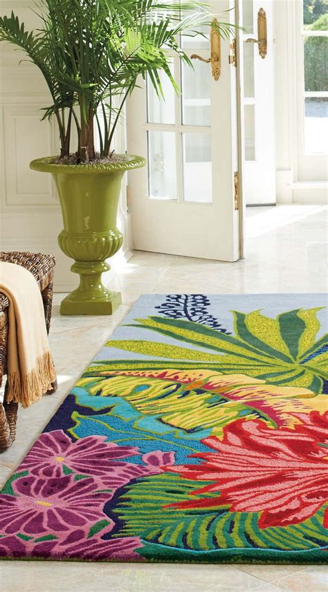 bright colored kitchen rugs bright floral rugs rugs ideas 4904