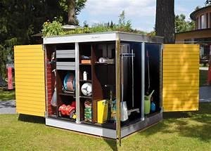 Geräteschuppen Modernes Design : ger teschuppen modern holz metall oder kunststoff garten q gmbh ~ Markanthonyermac.com Haus und Dekorationen