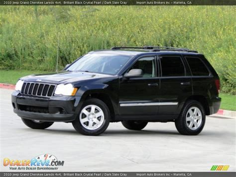 dark gray jeep grand cherokee 2010 jeep grand cherokee laredo 4x4 brilliant black
