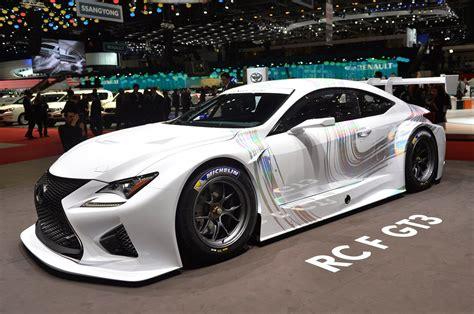lexus rc modified automotiveblogz lexus rc f gt3 racing concept geneva