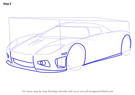 Learn How To Draw Koenigsegg Ccx (sports Cars) Step By
