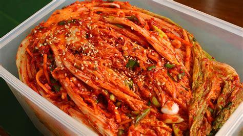 kimchi recipe traditional kimchi recipe tongbaechu kimchi 통배추김치 viyoutube