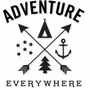 Silhouette Design Store - View Design #84967: 'adventure ...