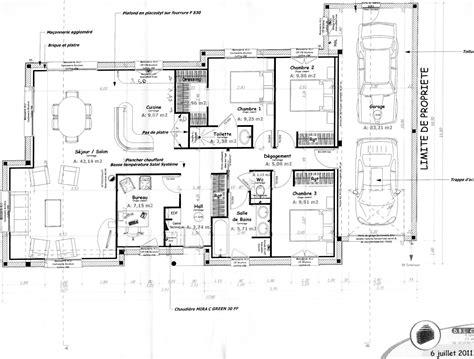 plan maison interieur ventana