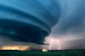 Tornado and Lightning Storm