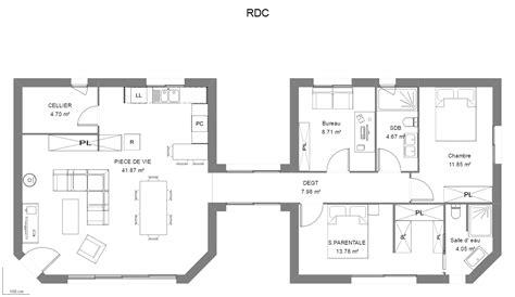 guide des chambres d h es source d 39 inspiration plan maison 4 chambres luxe design