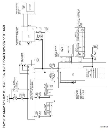 Nissan Altima Service Manual Front Power Window