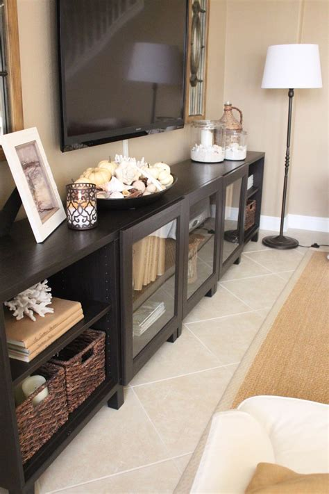 Decorating Ideas Tv Consoles by Family Room After The Big Reveal Furniture Ideas Home