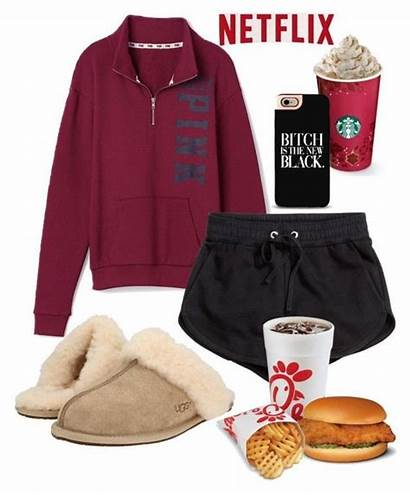 Outfits Polyvore Lazy Ugg Comfy College Victoria
