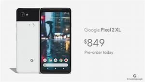 Google Unveils Pixel 2 And Pixel 2 Xl Smartphones