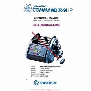 Miya Command X
