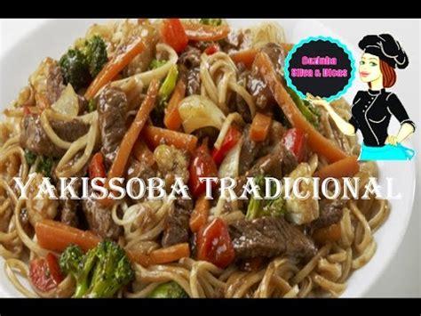 receita de como fazer yakissoba tradicional de delicioso