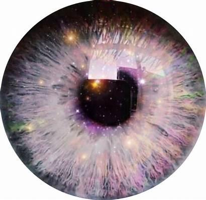 Galaxy Eye Pupil Sparkle Bright Picsart Pretty
