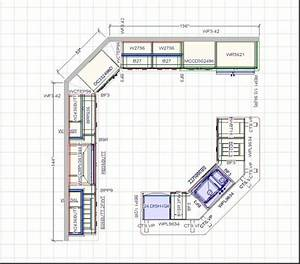 12 x 12 kitchen design layouts kitchen design layout for With 12 by 12 kitchen designs