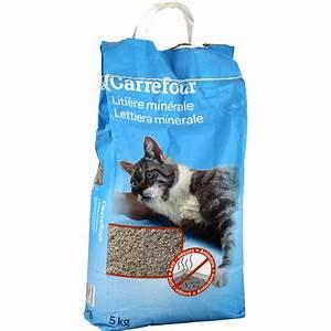 Litiere Chat Sans Odeur : liti re pour chat min rale anti odeurs carrefour carrefour ~ Premium-room.com Idées de Décoration