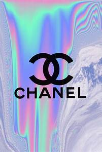 Chanel holographic iphone wallpaper | Iphone wallpapers ...