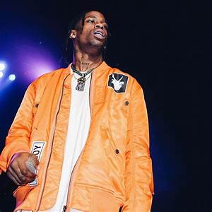 Travis Scott Performs Wearing Helmut Lang x Travis Scott ...