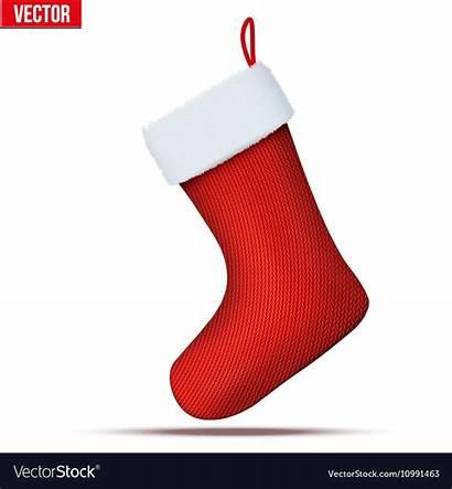 Stocking Christmas Socks Vector Sock Royalty Vectors