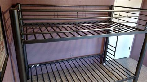 freelywheely metal bunk bed frame from american signature