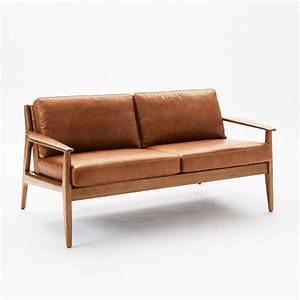 Sofa With Wood Frame Charlotte Sofa With Wood Frame Hbf