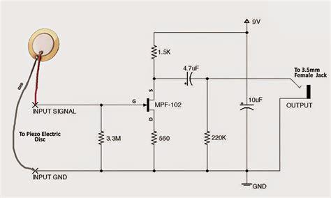 Diy Contact Mic Circuit Diagram Centre