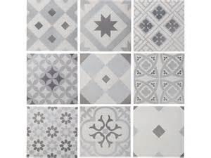 carrelage salle de bains carreaux ciment patchwork