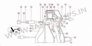 Textile Cleaning Spray Gun Wonder Ts16 Parts List