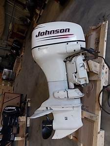 2006 Johnson Xl 90 Hp Saltwater Edition Outboard Complete
