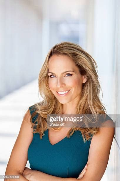 Year Old Woman Blonde Stock Photos Pictures Getty