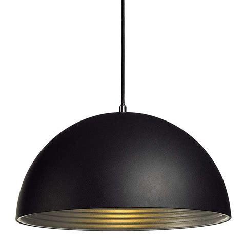 cuisine moderne jaune suspension dôme alu noir intérieur argent le avenue