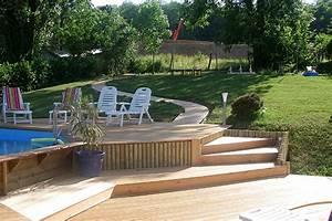 terrasse sur terrain en pente kirafes With terrasse terrain en pente