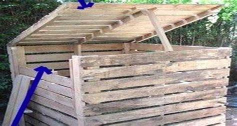 meuble de cuisine pas chere et facile fabriquer un composteur en palette ou bois de récup
