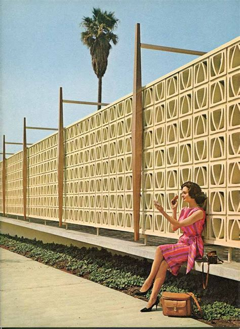 images  block wall fence  pinterest