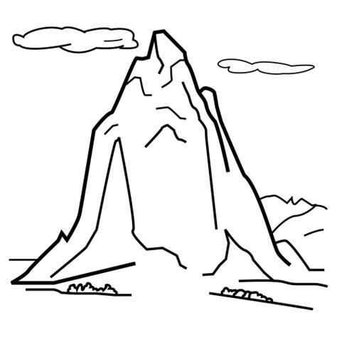 Dibujo montaña Imagui