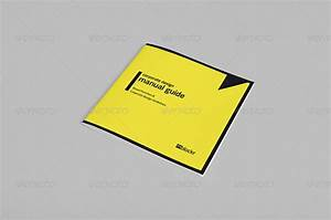 Corporate Design Manual Guide Square      36 Pages By