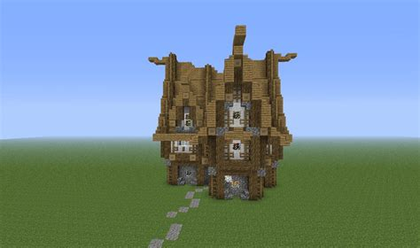 Medieval House #2 Minecraft Project