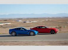 American Psycho Shelby GT350 Takes On Corvette Stingray