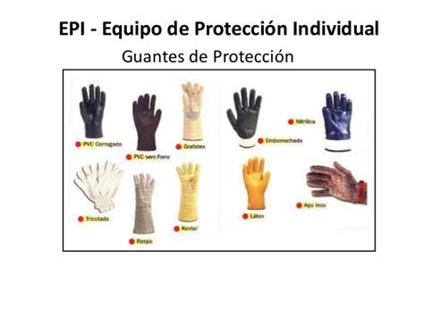epp guantes