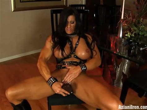 Aziani Iron Angela Salvagno Wearing Strap On Cock Free
