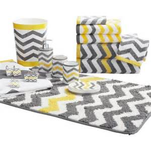 mainstays chevron shower curtain yellow walmart