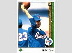 NOLAN RYAN BASEBALL CARDS COLLECTION by Miguel The