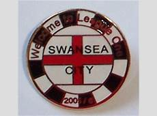 Swansea City Football Badge 001 Promotion Badge Welcome