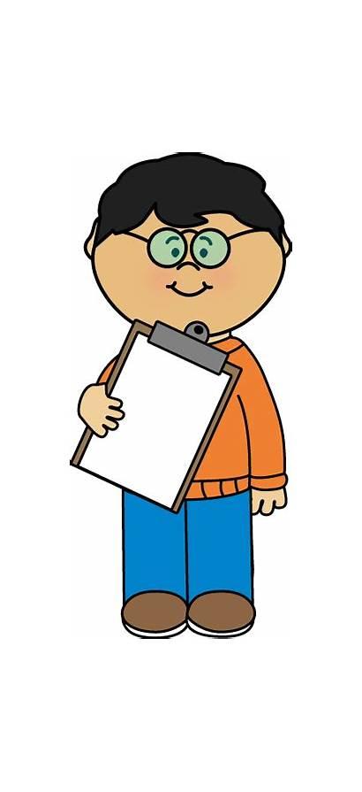 Helper Teacher Clip Boy Classroom Clipboard Graphics