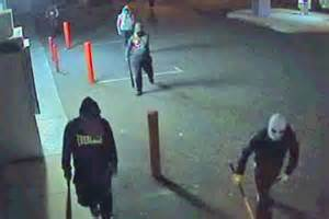 Image result for images of gang with baseball bats