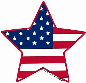 4th Of July Star Clipart - ClipArt Best