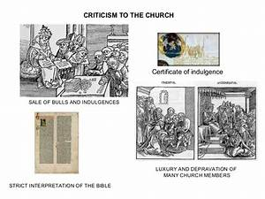 Humanism, Reformation and Counter- Reformation