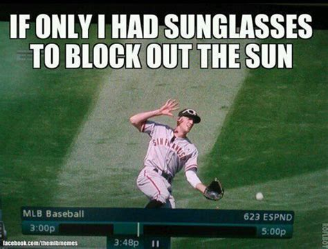 Hunter Pence Memes - hunter pence forgot how to use sunglasses monday nbc bay area