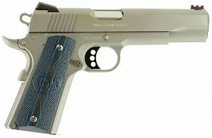 Colt 1911 Competition Pistol O1080ccs  45 Acp  5 U0026quot   Blue