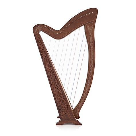 what is a l harp 36 string irish harp with levers by gear4music rw b